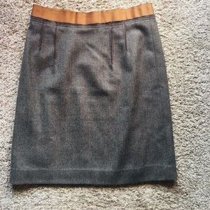 Loft Lined Tweed Skirt-4P
